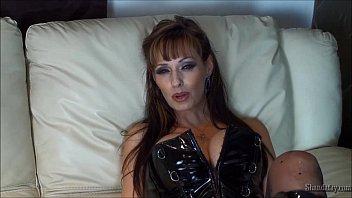 Hot MILF Pegging Her Man & Facial!!