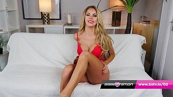 Dirty talking Marni Moore hot striptease in lingerie & heels 7 min