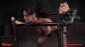 Milf sub gets roughfucked from behind