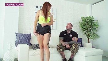 first scene amateur teen blonde chubby latina big boobs big ass fucking with a big cock Emilio Ardana 4K 13 min