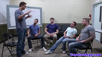 Gay men christmas party Groupsex gay hunks sucking hard cock