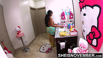 Dirty Daughterinlaw Caught Brushing teeth Topless And Fucked, Sheisnovember Drilled With Extremely Large Udders And Areolas Bouncing, While Her Mother Is Out The House, Black Fatherinlaw Slanging Dick Until Wife Gets Home by Msnovember,