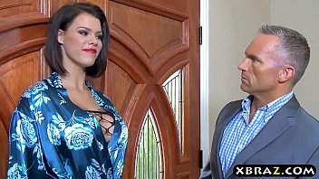 Huge tits housewife Peta Jensen cheats on her husband