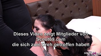 Real German Hooker Xania in Overknees Rough Fuck by Client