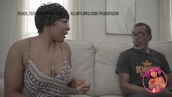 Ebony Teen Gives Rim Job and Rides Older Man BBC thumbnail