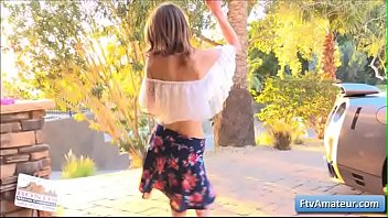Young Sexy Teen Girl Kristen Gets Naked And Dance A Hula Dance