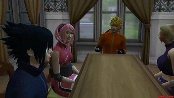 Sakura Encuentra A Su Amiga Ino Con Su Esposo Sasuke Cuarto Matrimonial Naruto Hentai Ntr