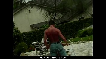 MomsWithBoys - Busty And Sexy Redhead Mom Fucking Outdoors
