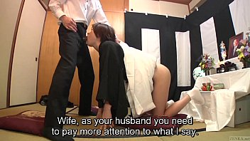 Subtitled Japanese blowjob with enema explosion HD thumbnail