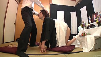 Subtitled Japanese f. blowjob with enema explosion HD