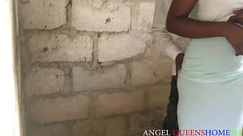 Married woman exposed,  she caught by her  husband having sex with his brother At uncompleted building.