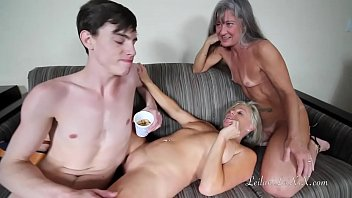 Mature woman and boy - Milfs use young man
