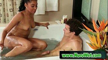 Sex on airbed the slippery nuru congratulate, remarkable idea