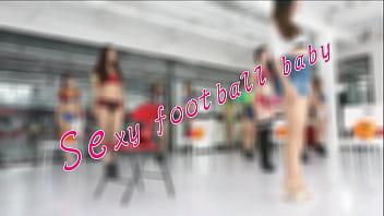 锦舞团 性感足球宝贝诱惑舞蹈