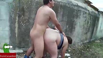 Doi Boschetari Fac Filme Porno Langa Un Zid Mare