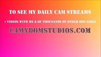 Brunette Camgir l tease camxdomstudios com studios com