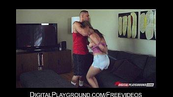 Stunning flexible brunette Holly Michaels loves rough-sex 5 min
