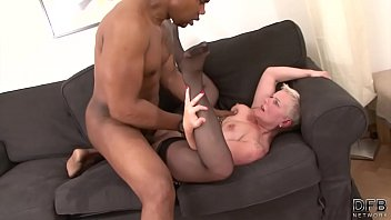 Black haired mature movie - Short hair grandma takes hard pussy fucking by bbc