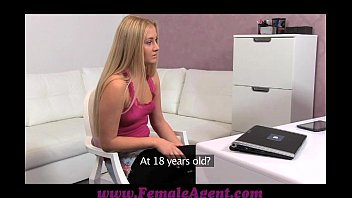 FemaleAgent Hot 18 year old recieves her first ever orgasm