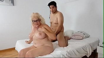 Mrs. Final loves having lots of cum all over her MATURE TITS