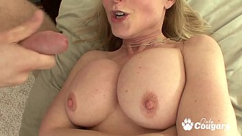 MILF Nina Hartley Gives A Young Man The Best Fucking Of His Life