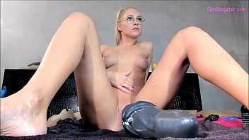 Sexy Blonde Destroys AssHole With Virgil *** Watch Live On CamGangster.com