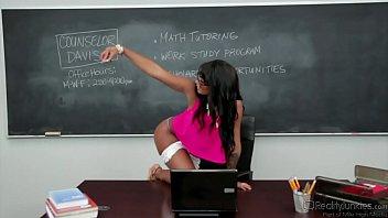 Harley Dean Banged In Classroom