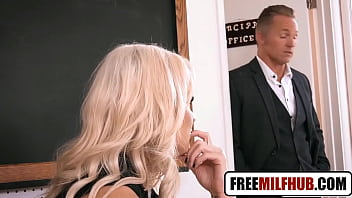 Hot Blonde Teacher Wants Big Dick by Freemilfhub.com thumbnail