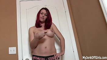 I want you to cum right in my mouth JOI
