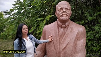 Kira Queen Punishes Her Stepson For Stealing A Stalin Medal From The Soviet Museum!