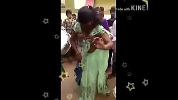Telugu aunty recording dance