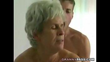 Young Boy Fucks Hairy Granny