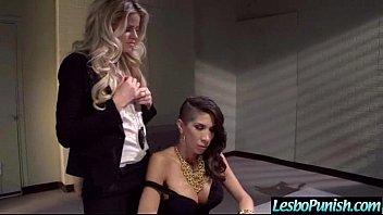 Lesbians (jessa&kayla&kendra) Use Sex Toys In Punish Hard Sex On Tape movie-19