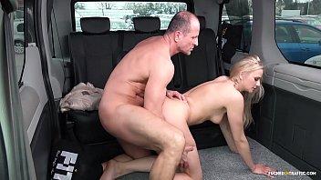 VIP SEX VAULT Steamy outdoor car sex with hot Czech blonde Katie Sky