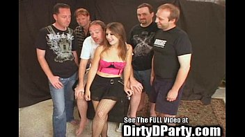 18yo Cum Swallowing Bukkake Slut! 5 min