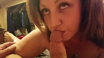 Wife loves my cock - Wife loves to eat my cock