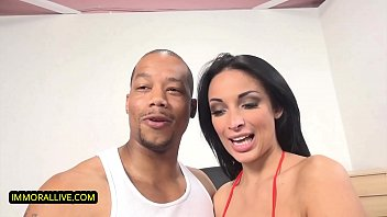 SQUIRTING FUN - Anissa Kate Natural Perfect 36-DD Boobs Bounce Pleasured by Sweet Lover Dirk Huge