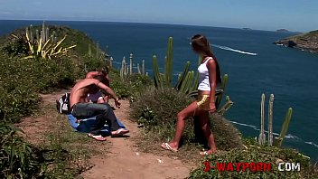 3-Way Porn - Alone Babe Find Two Horny Man At The Beach 20 min
