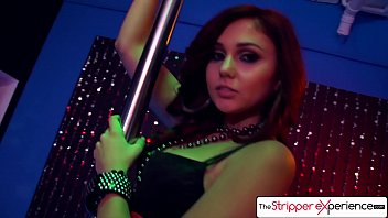 Experience first sexual time - The stripper experience - ariana marie strip down and suck a huge cock