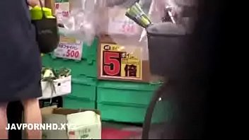 Japanese housewife fucked outside the house husband is inside 43 min
