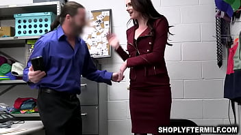 Famous celebrity caught stealing and gets some punishment from the officer