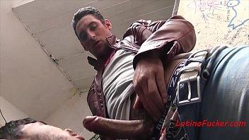Leather gay club Fucking the latin bartender at a gay club