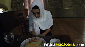 Hijab Wearing Refugee Swaps Hostel Stay For Blowjob thumbnail
