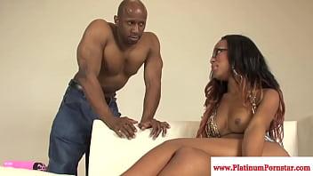 Tila nguyen pornstar Ebony pornstar tila flame fucked hard