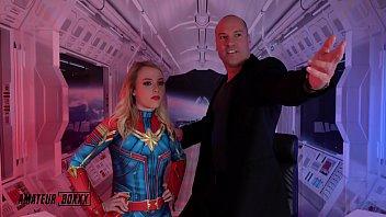 Amateur Boxxx - Dixie Lynn is a Teenage Captain Marvel 5 min