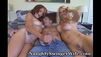 Teen Swings With Naughty Couple