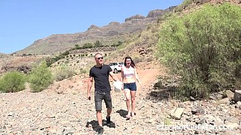 Hitchhiking thumb - Hitchhiker on gran canaria