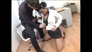 Free free fuck videos Brunette gets fucked in the ass by her boss