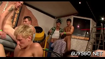 Sexy homo orgy with ripped studs...