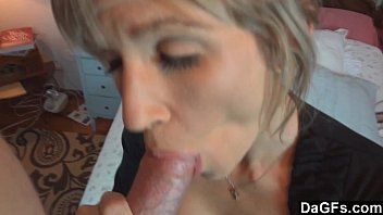 She Works Hard To Get Her Mouthful Of Jizz
